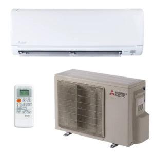 Mitsubishi Ductless AC Install